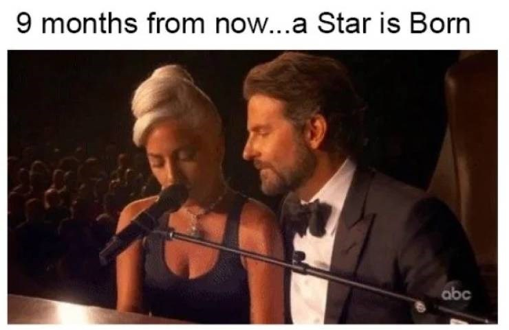 Music - 9 months from now...a Star is Born abc