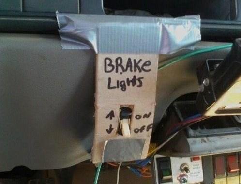 Bumper - BRAKE Ligts ON ofF