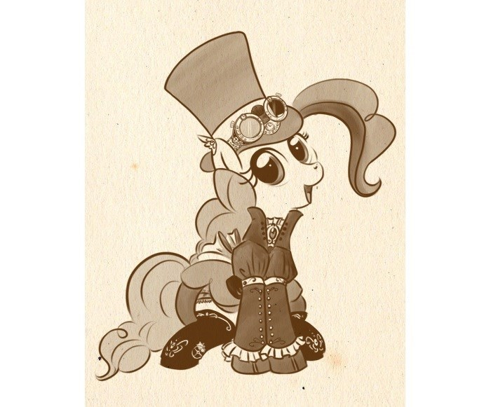 Steampunk puns pinkie pie bunnimation - 9276564992