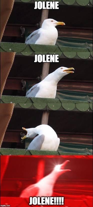 Bird - JOLENE JOLENE JOLENE!!!! imgfip.com