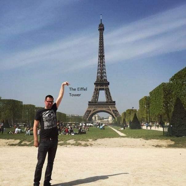 Landmark - The Eiffel Tower