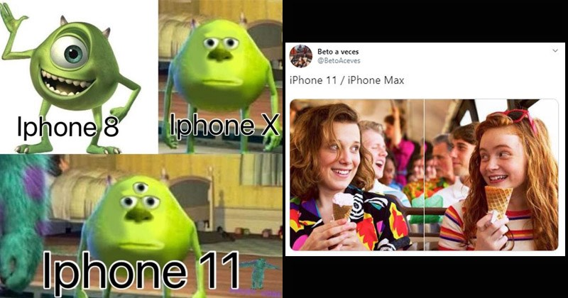 Funny memes making fun of the new iPhone 11