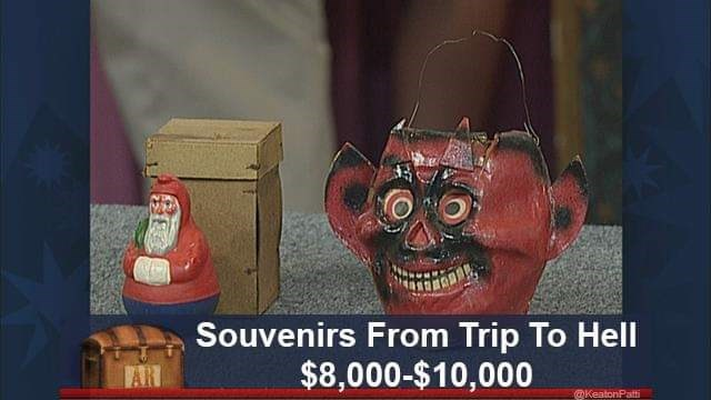 Head - Souvenirs From Trip To Hell $8,000-$10,000 @KeatonPatt