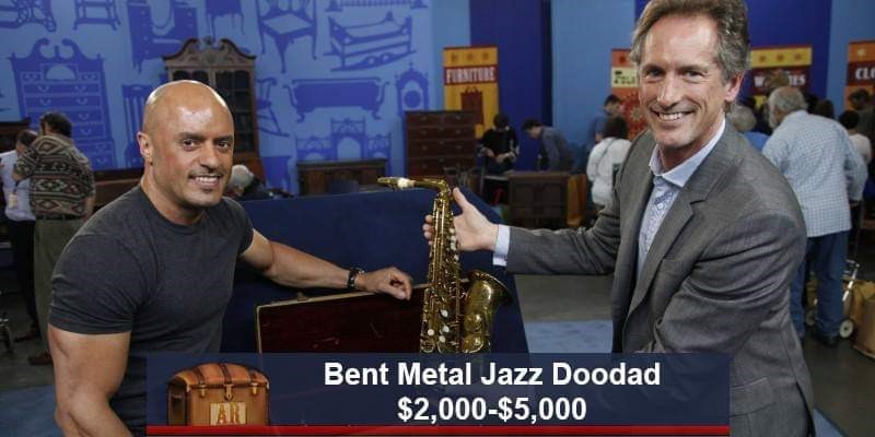 Saxophone - FURNITURE CL Bent Metal Jazz Doodad $2,000-$5,000 AR