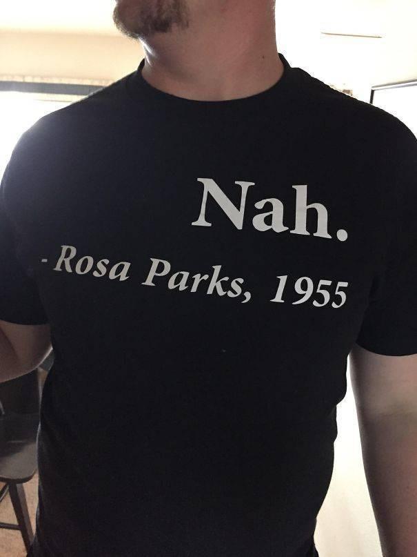 T-shirt - Nah. Rosa Parks, 1955