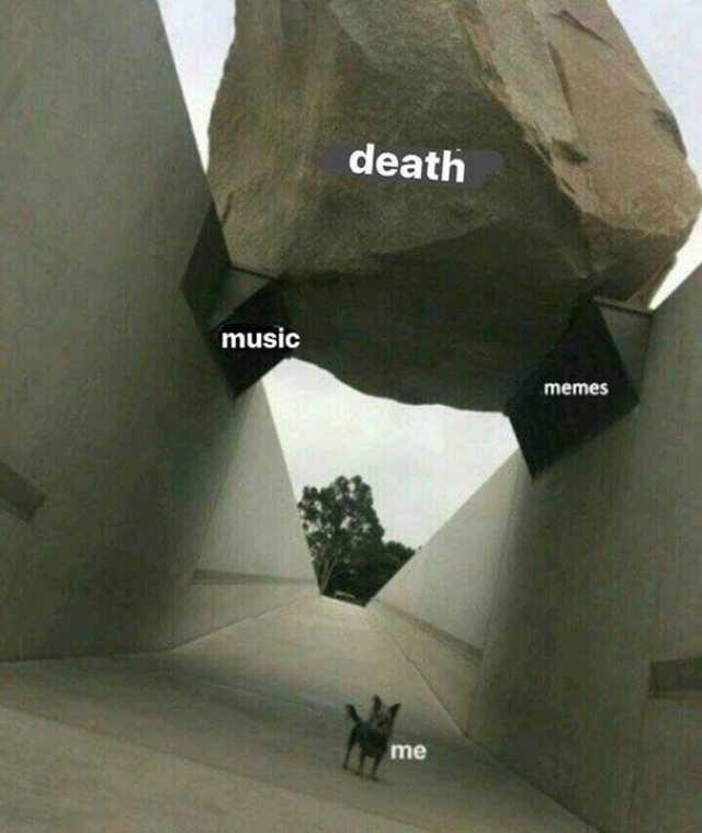 Architecture - death music memes me