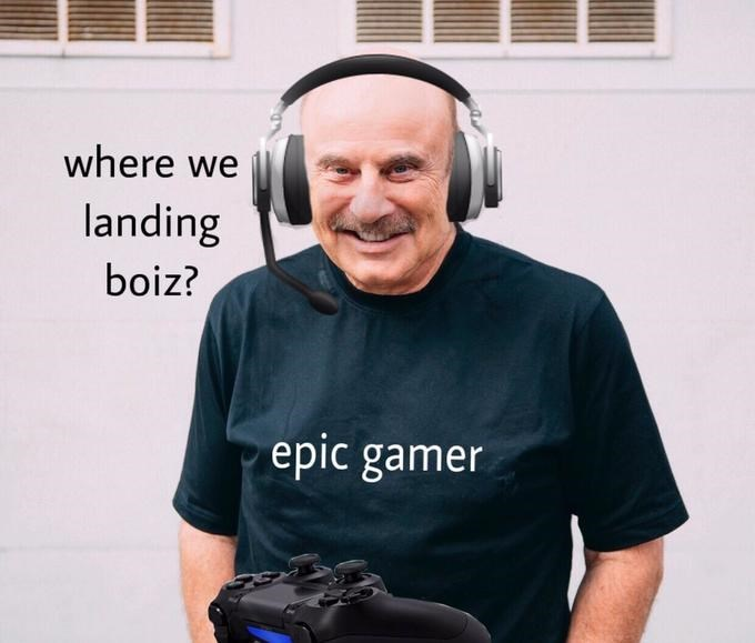 Headphones - where we landing boiz? epic gamer