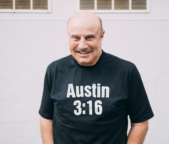 T-shirt - Austin 3:16