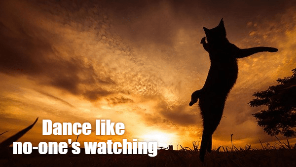 Sky - Dance like no-one's watching