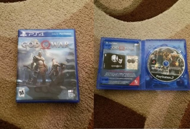 Technology - LPS4 Only On PlayStation GOD OF WAR GOD WA ఇం PlayStation 2 Monka