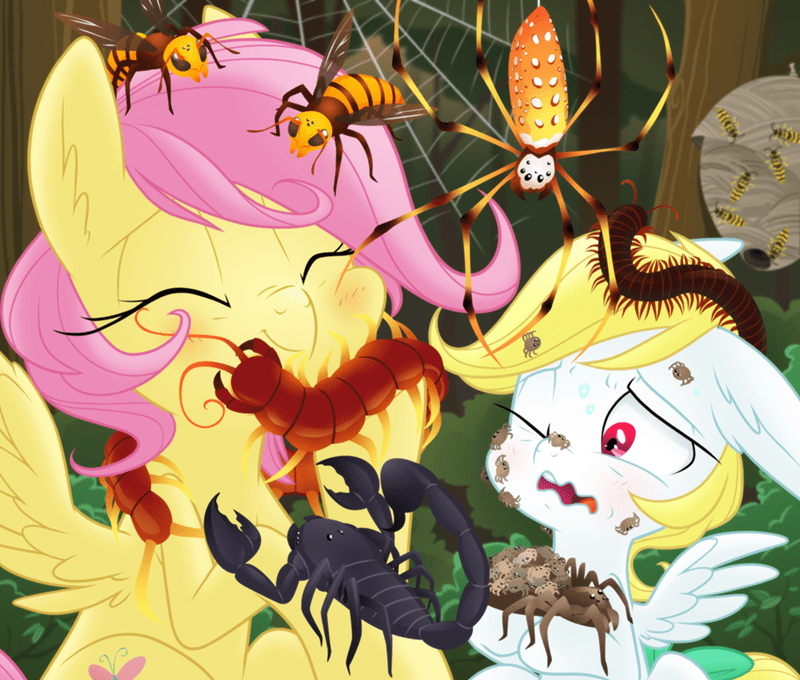angel ponify fluttershy equestria-prevails - 9279347968