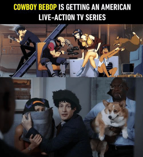 Photo caption - COWBOY BEBOP IS GETTING AN AMERICAN LIVE-ACTION TV SERIES
