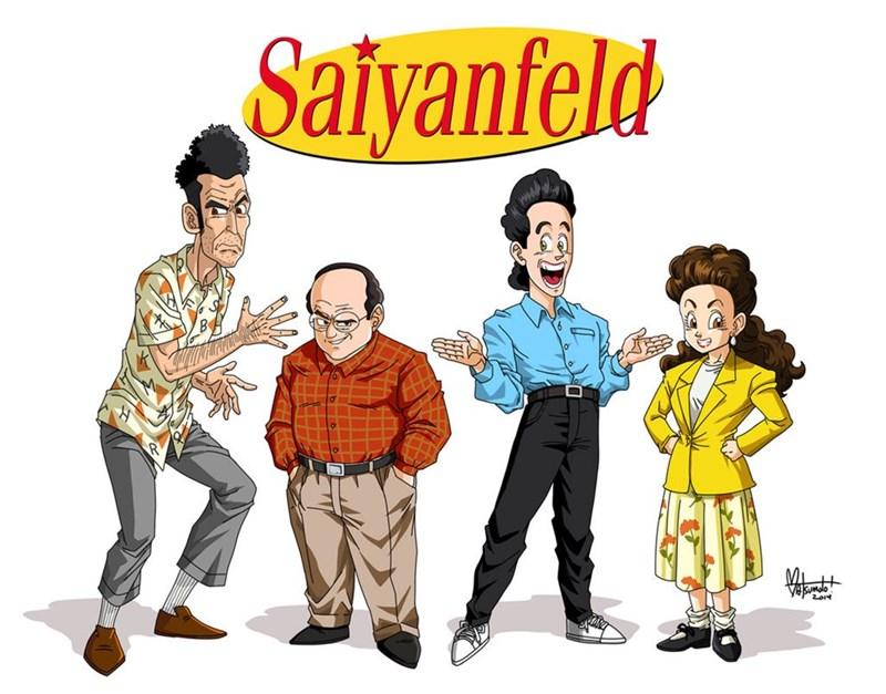 Cartoon - Saiyanfeld