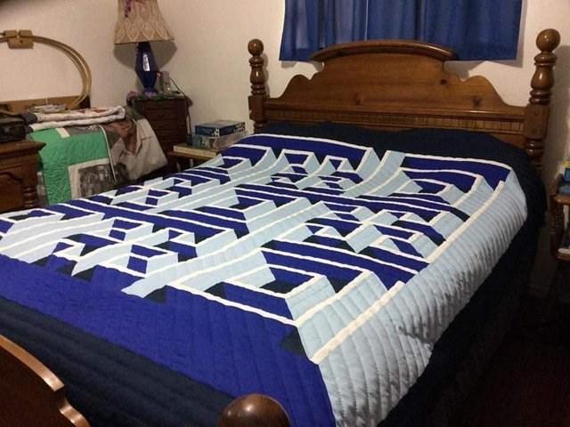 weird perspective pics - Bed sheet