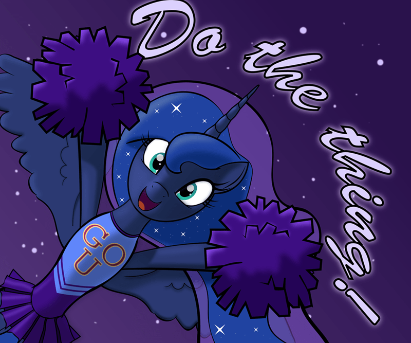 motivational princess luna trash anon - 9280114688