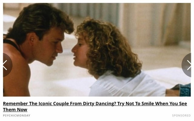 facepalm - Romance - Remember The Iconic Couple From Dirty Dancing? Try Not To Smile When You See Them Now PSYCHICMONDAY SPONSORED