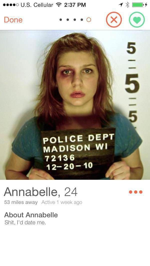 police picture girl with black eye POLICE DEPT MADISON WI 72136 12-20-10 Annabelle, 24 53 miles away Active 1 week ago About Annabelle Shit, l'd date me.