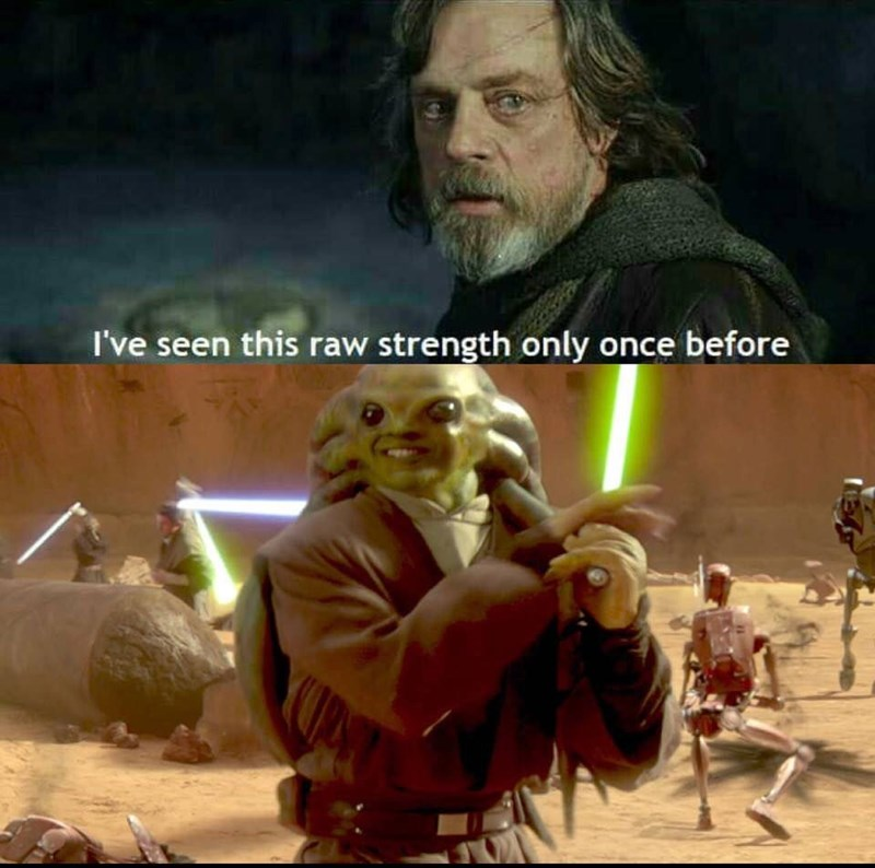 Movie - I've seen this raw strength only once before