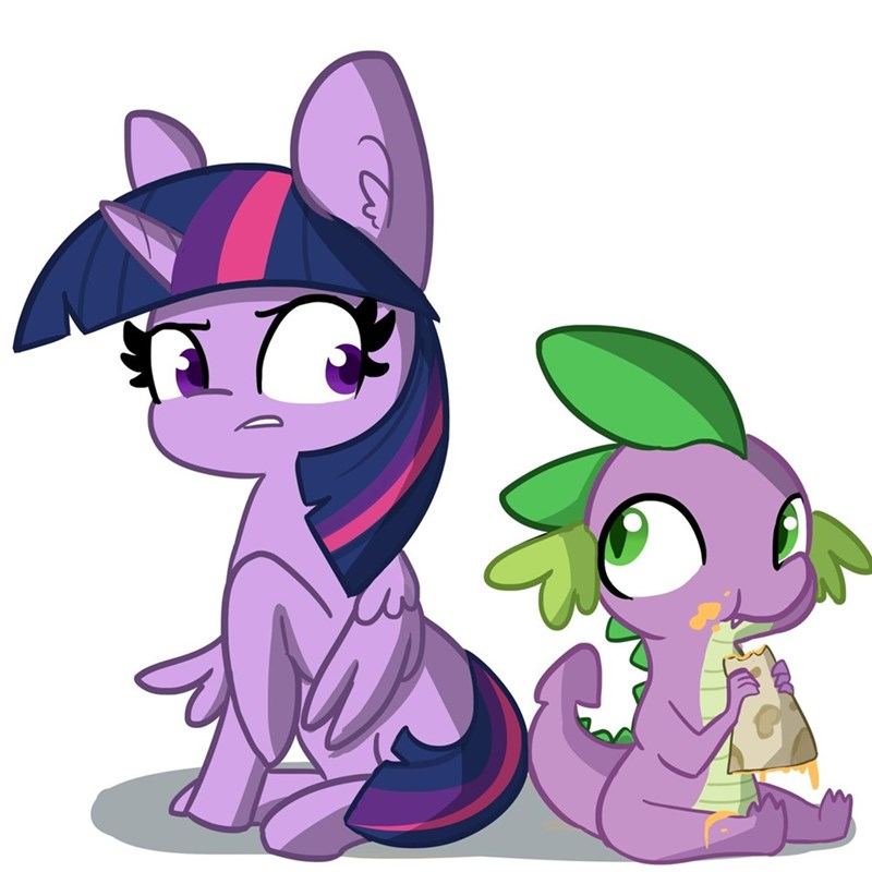 spike tj pones twilight sparkle - 9281465856