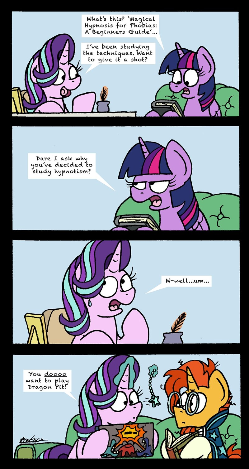 sunburst bob the dalek starlight glimmer twilight sparkle comic starlight the hypnotist - 9281467136