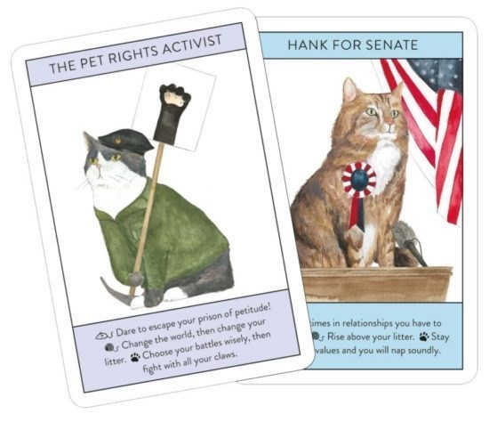 Cat - HANK FOR SENATE THE PET RIGHTS ACTIVIST Dare to escape your prison of petitude! Change the world, then change your litter.Choose your battles wisely, then fight with all your claws. imes in relationships you have to Rise above your litter. Stay walues and you will nap soundly.