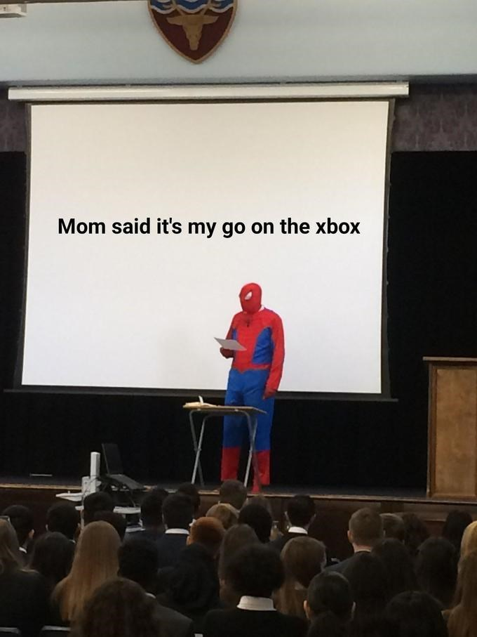 Presentation - Mom said it's my go on the xbox