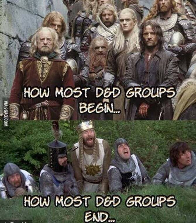 People - HOW MOST DED GROUPS BEGN... HOW MOST DED GROUPS END.. VIA 9GAG.COM