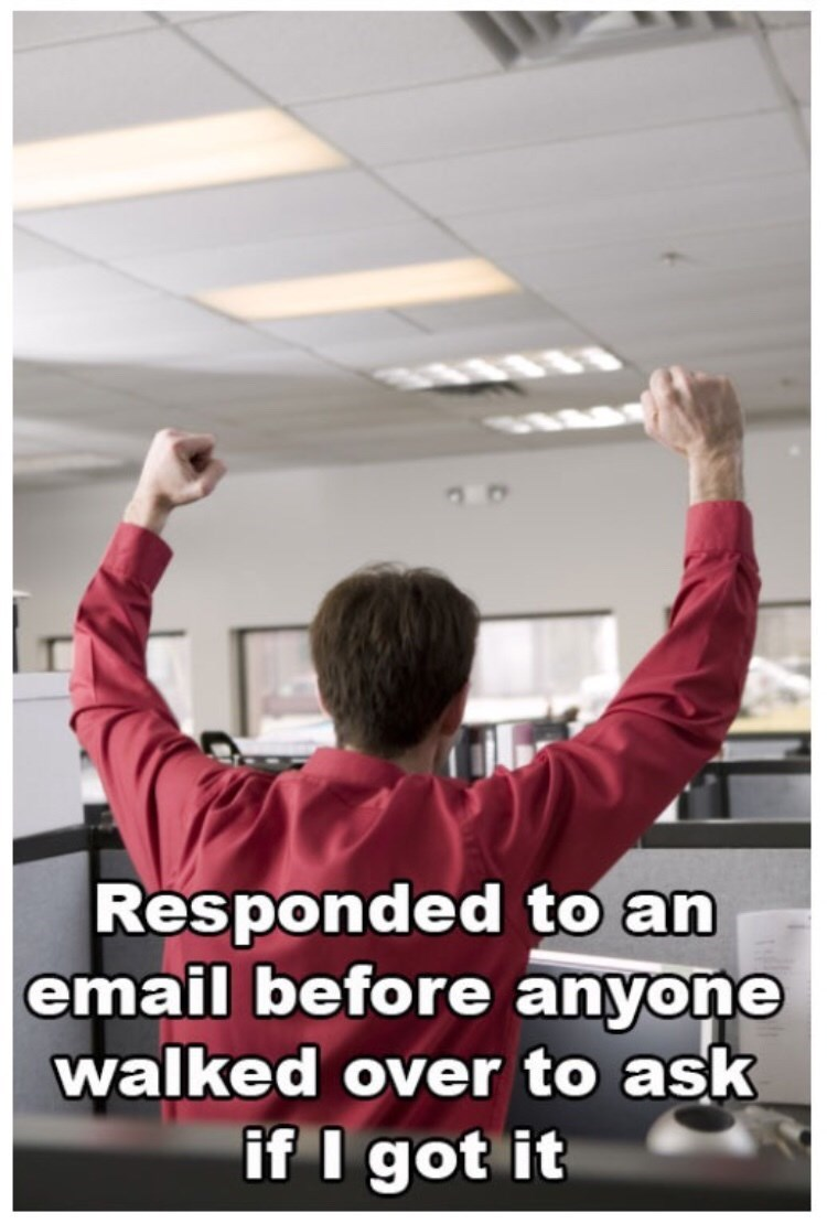 monday meme about answering emails