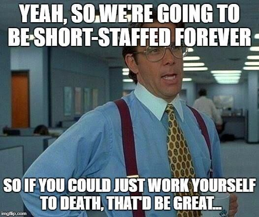 monday meme about doing several people's works