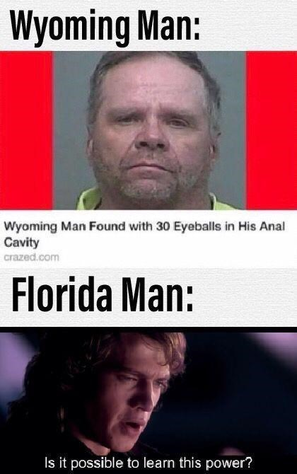 monday meme about Florida man finding a mentor