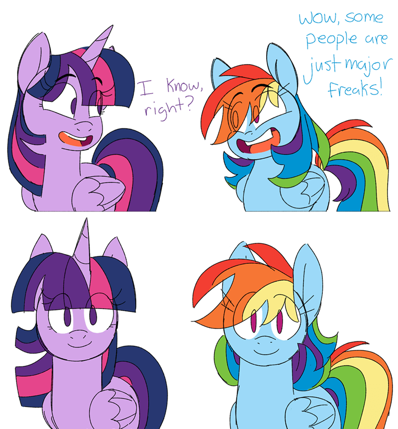 fourth wall twilight sparkle taaffeiite comic rainbow dash - 9283251200