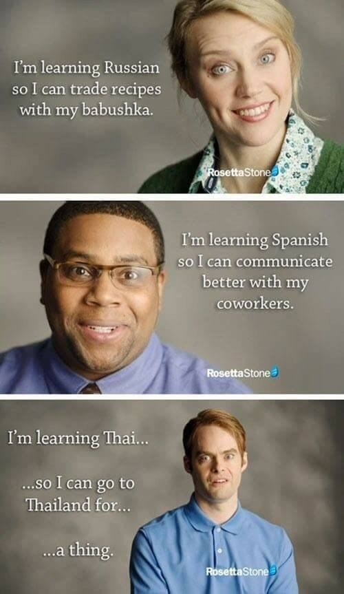 shitpost with snl skit about learning a new language for sex trafficking
