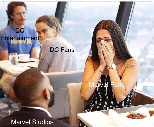 shitpost about dc vs marvel