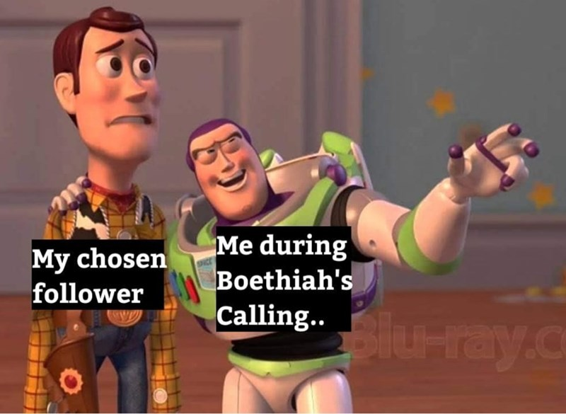 dank meme - Cartoon - Me during Boethiah's Calling. ray.c My chosen follower