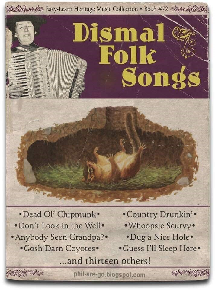 Geology - Easy-Learn Heritage Music Collection Bou # 72 Dismal Folk Songs .Dead Ol' Chipmunk Don't Look in the Well Anybody Seen Grandpa? Gosh Darn Coyotes Country Drunkin' Whoopsie Scurvy Dug a Nice Hole .Guess I'll Sleep Here .and thirteen others! phil-are-go.blogspot.com