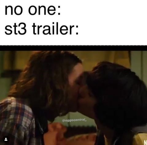 Romance - no one: st3 trailer: @eggocentralL