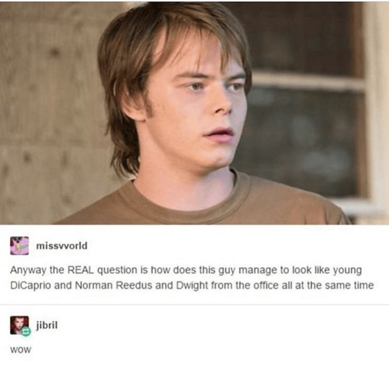 Face - missvvorld Anyway the REAL question is how does this guy manage to look like young DICaprio and Norman Reedus and Dwight from the office all at the same time jibril WOW
