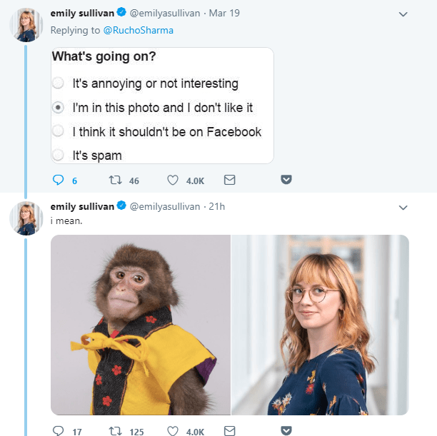 monkey meme about a monkey that looks like he is a journalist