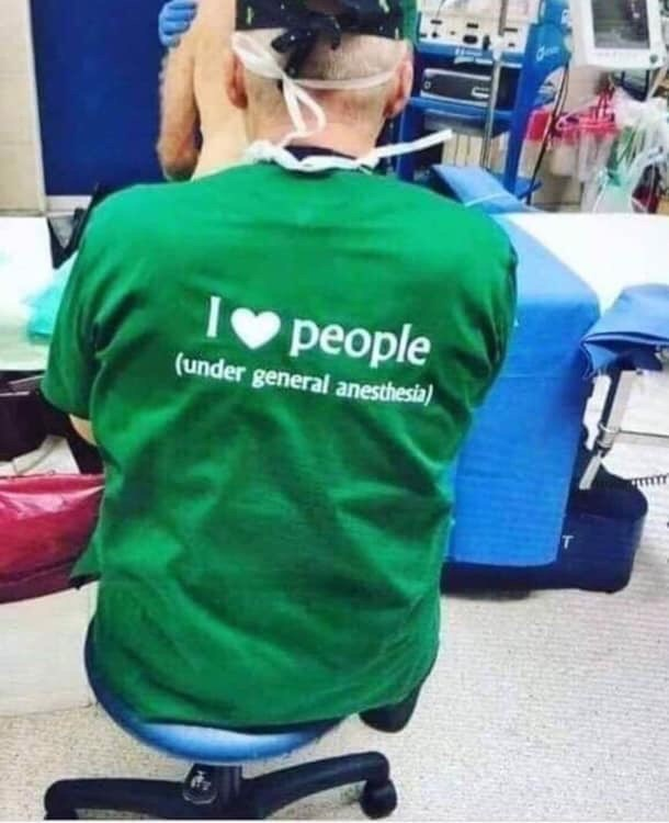 Green - Ipeople (under general anesthesia)