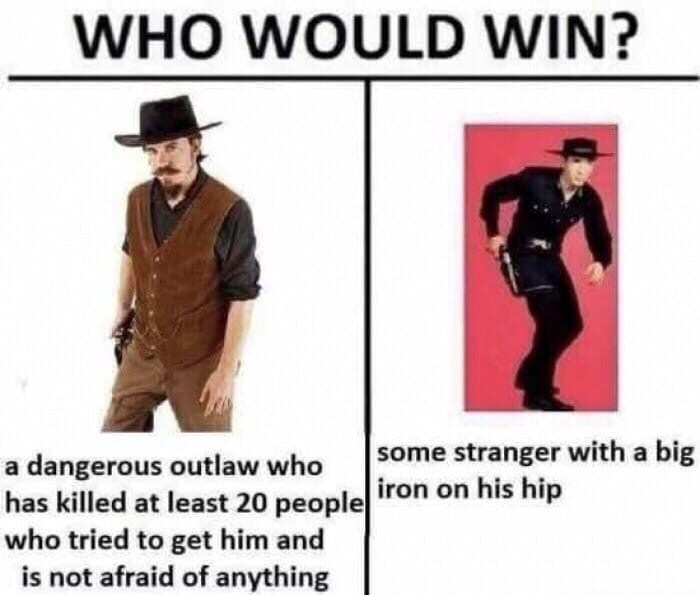 fallout meme about the song Big Iron
