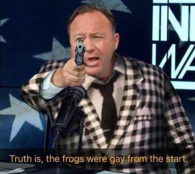 fallout meme about gay frogs