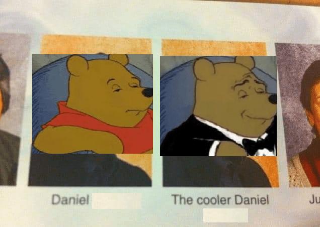 Modern art - Daniel The cooler Daniel Ju