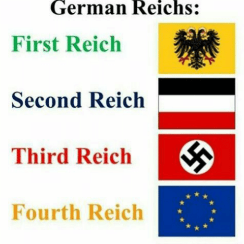 article 13 meme about the EU being the fourth reich