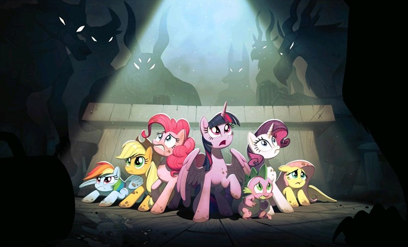 spike applejack joy ang my little pony the movie twilight sparkle pinkie pie rarity fluttershy rainbow dash - 9286838016