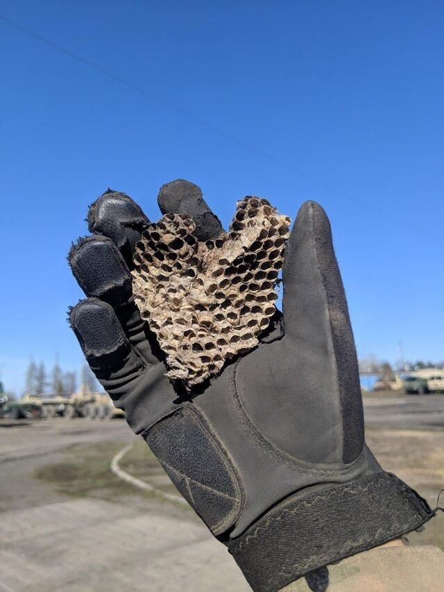 optical illusion - Glove