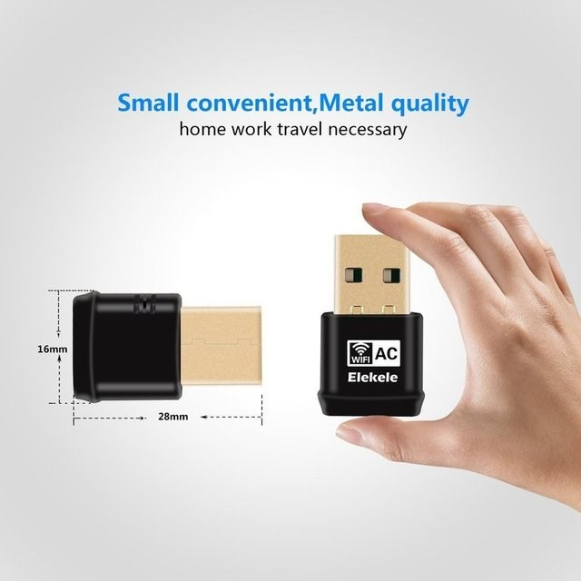 Electronic device - Small convenient, Metal quality home work travel necessary AC 16mm WIFI Elekele 28mm
