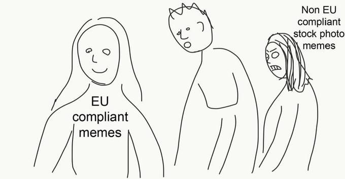 Face - Non EU compliant stock photo memes EU compliant memes