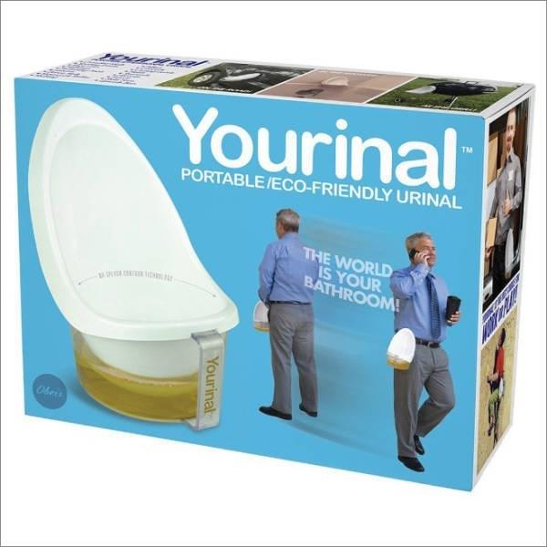Product - Yourinal TM PORTABLE/ECO-FRIENDLY URINAL THE WORLD IS YOUR BATHROOM! Obers Yourinal