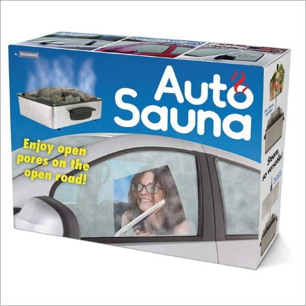 Product - Auto Sauna Enjoy open pores on the open road!