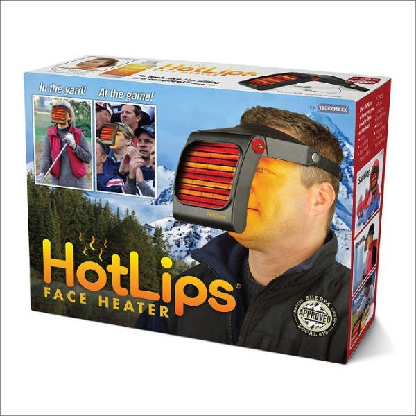 Personal protective equipment - TECIDOA M At the game! In the yard! HotLips BLERPA FACE HEATER ALANS